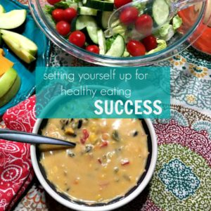 How to set yourself up for healthy eating success|Ripped Jeans and Bifocals
