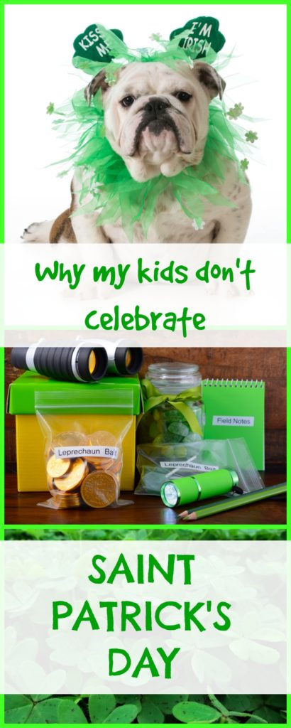 Why my kids don't celebrate St Patrick's Day|Ripped Jeans and Bifocals