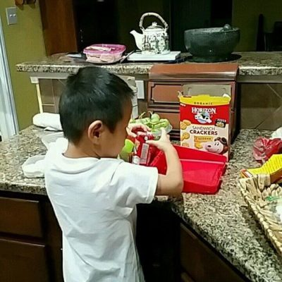 Yes, I make my 5-year-old make his own lunch