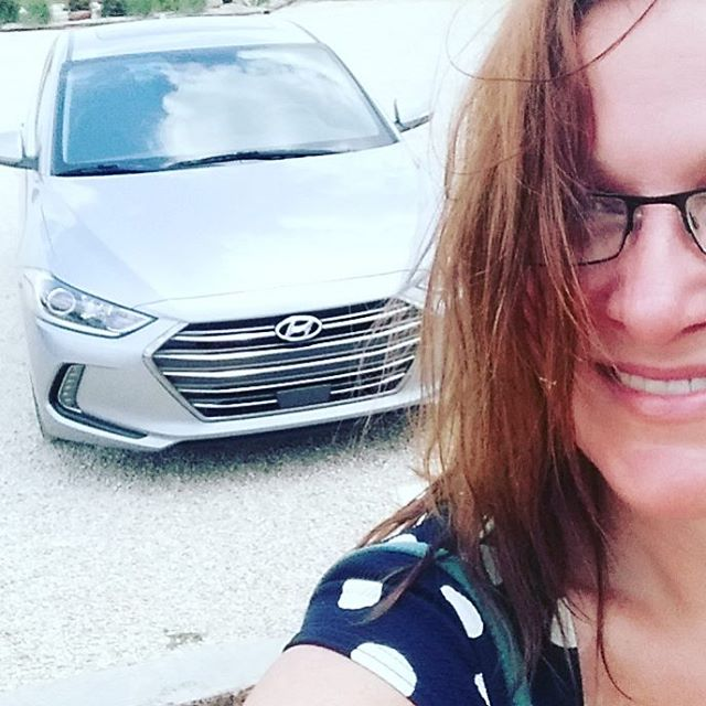 The Huyndai Elantra went to the vineyard today. #drivehyundai #driveshopusa #winery #caors #sundayfun #love #instagood #picoftheday #funny #sunshine #selfie