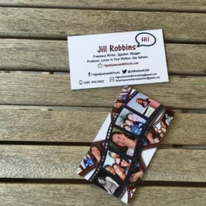 Got my new business cards just in time for BlogHer!hellip