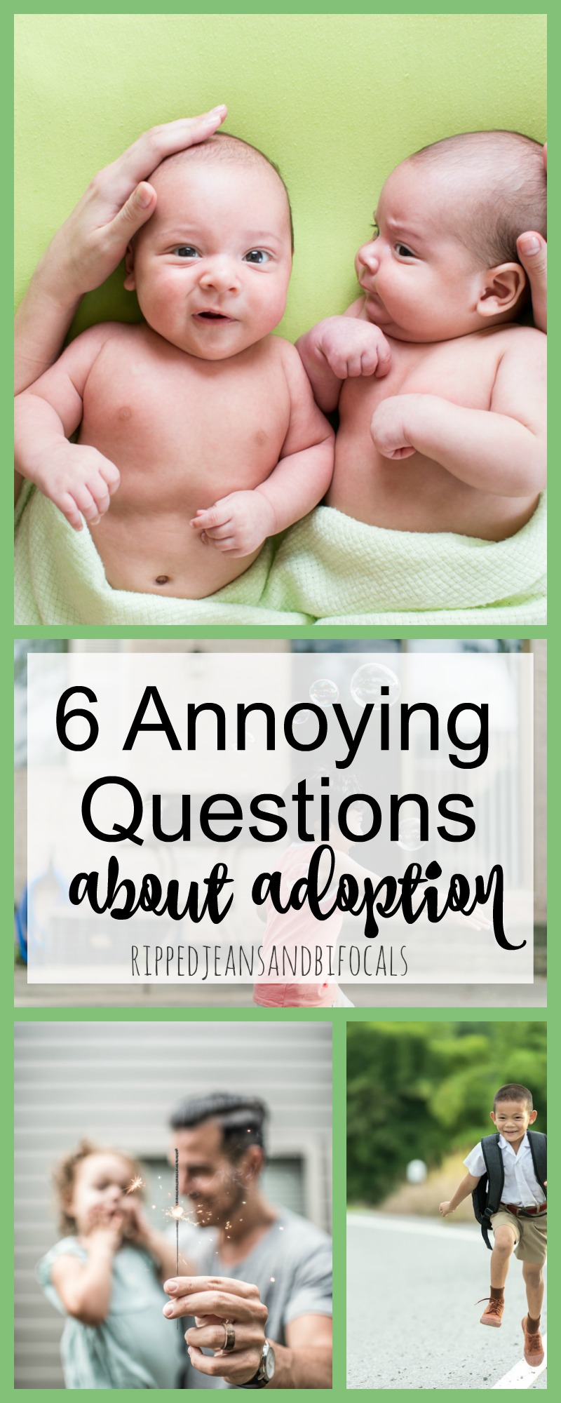 Six Annoying Adoption Questions|Ripped Jeans and Bifocals
