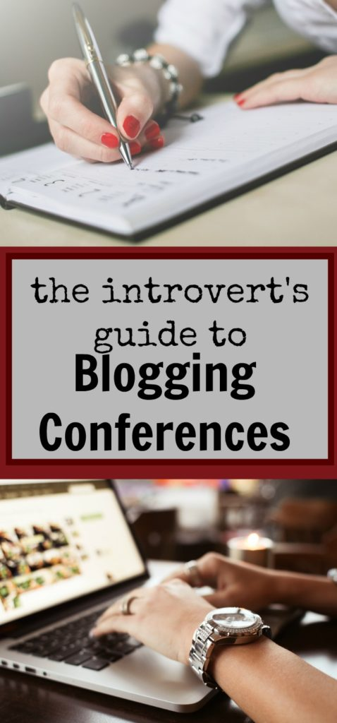 The introvert's guide to a blogging conference|Ripped Jeans and Bifocals