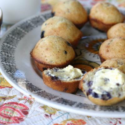 Blueberry muffins & honey butter recipe hack