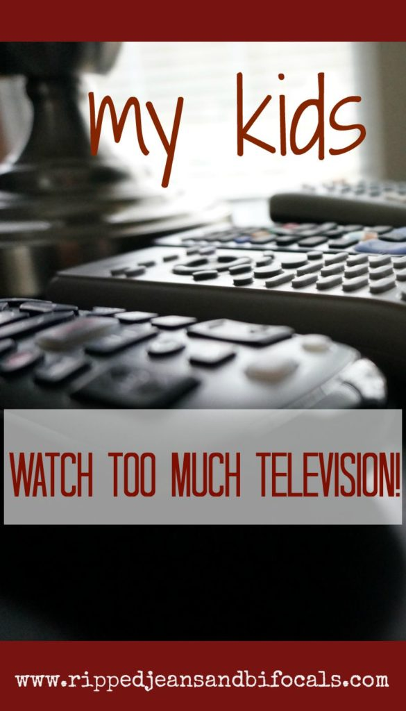 My kids watch too much television|Ripped Jeans and Bifocals|screen time|online games|sponsored|