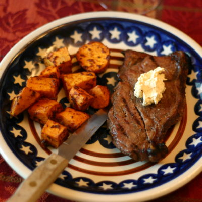 Cooking with organic grass-fed beef and a total kitchen disaster
