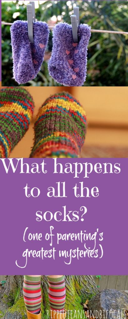 One of life's greatest mysteries - What happens to all the damn socks?