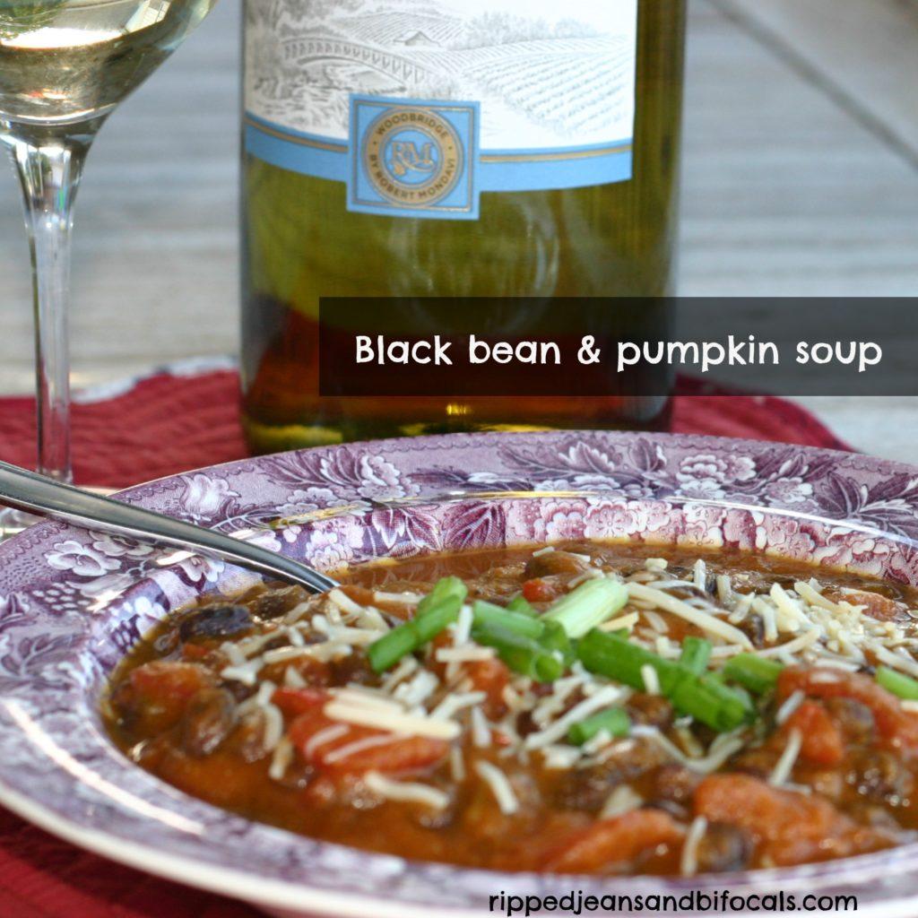 Black Bean Pumpkin Soup Recipe — Dishmaps