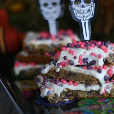 """To die for"" cookie bars for the Day of the Dead"