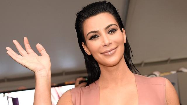 Kim Kardashian Car Seat Photo