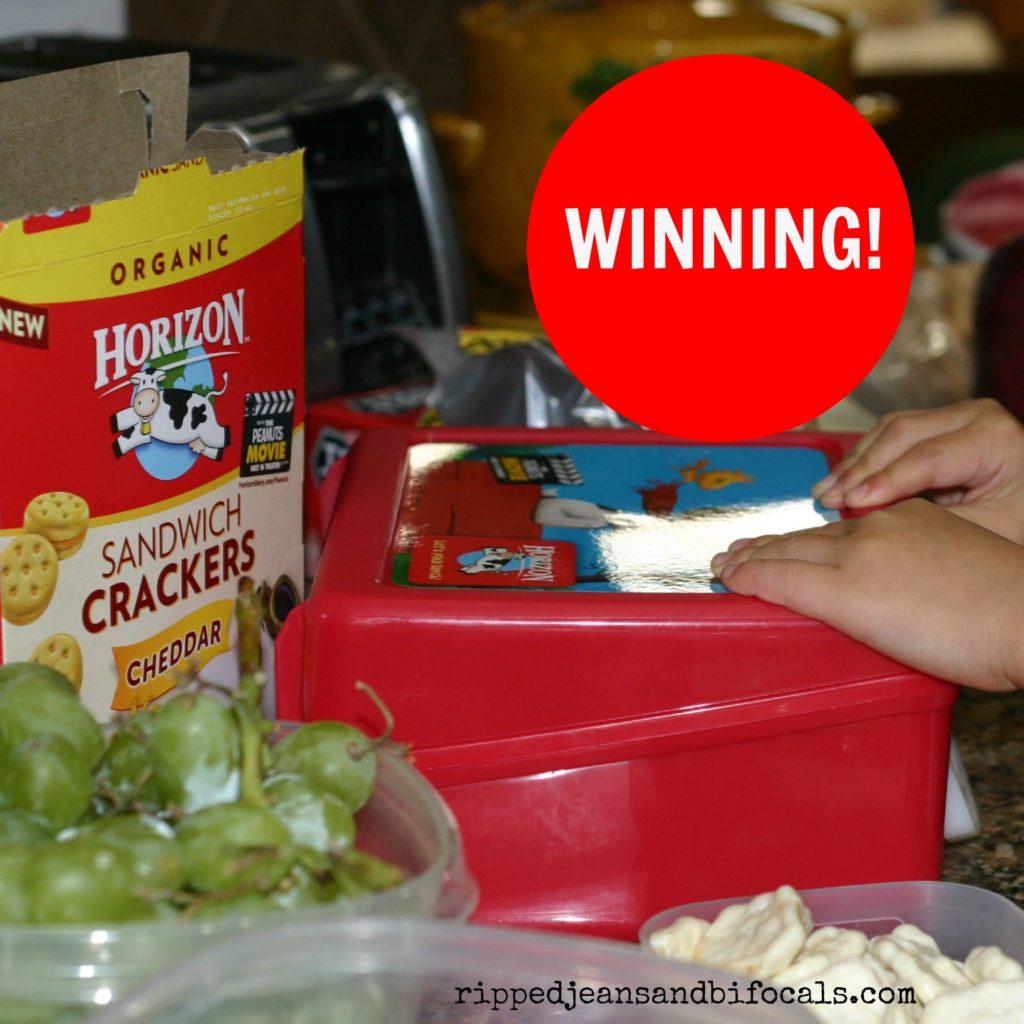 Winning with Horizon Lunch