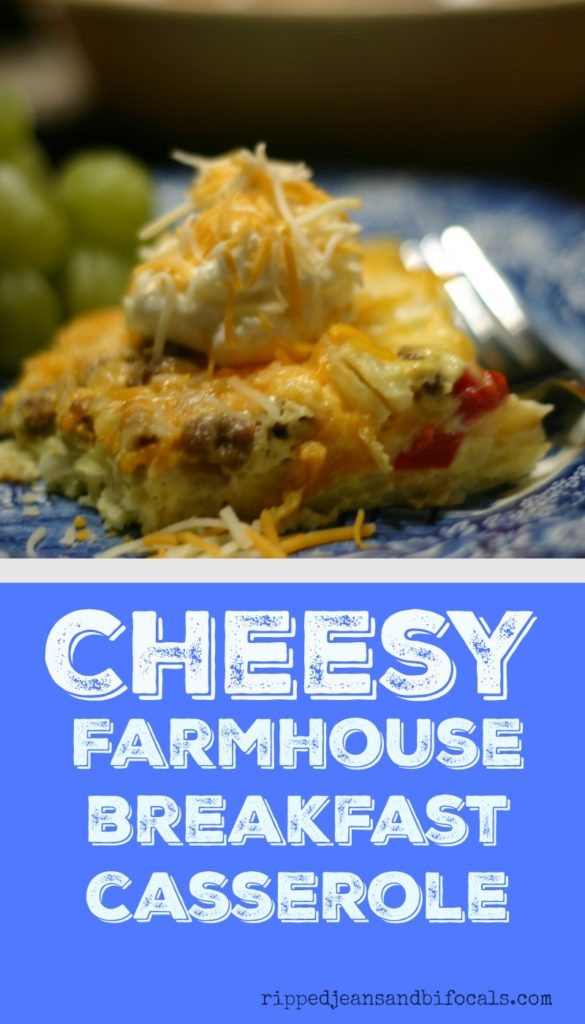 Cheesy farmhouse breakfast casserole|breakfast recipes|egg recipes|breakfast casserole|