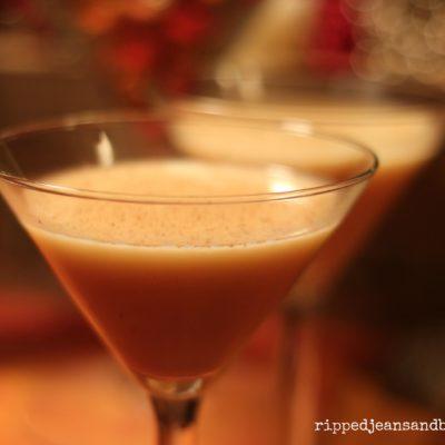 How to make the perfect eggnog martini