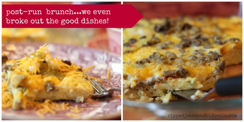 Deliciously Cheesy Breakfast Casserole with Sausage and Kraft Cheese|Ripped Jeans and Bifocals|