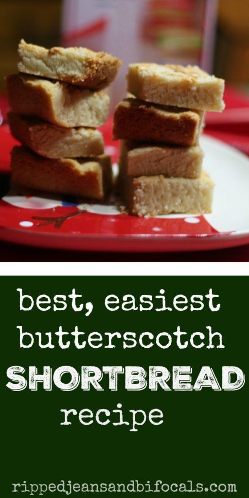 Best, Easiest Butterscotch Shortbread Recipe