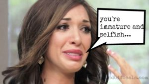 Guess what, Farrah Abraham? All six year-olds are selfish!