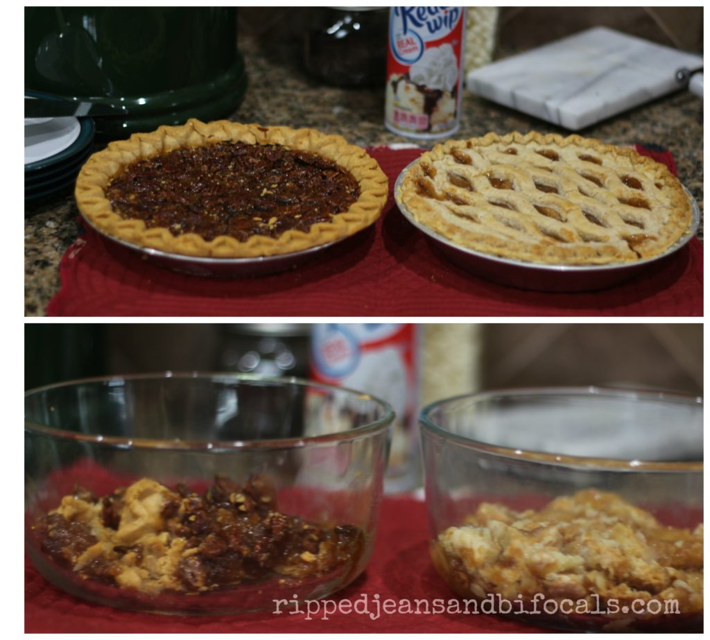 How to make awesome pie shooters for your dessert table|Ripped Jeans and Bifocals