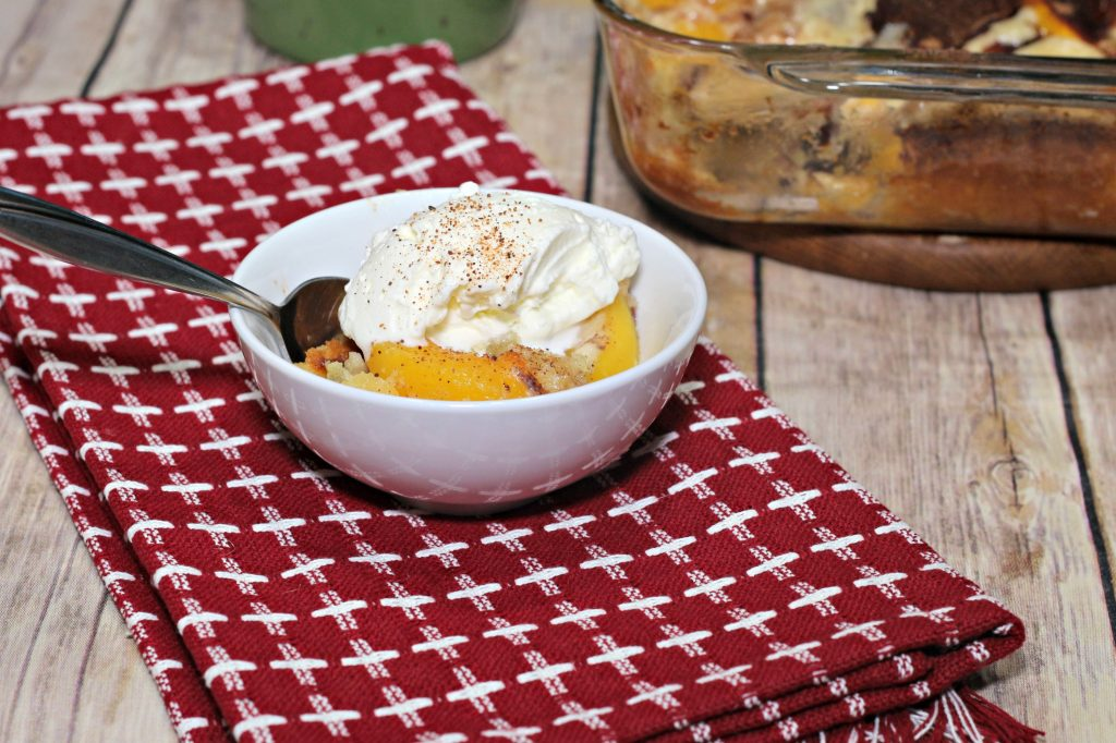 Easy Peach Cobbler with Splenda|Ripped Jeans and Bifocals