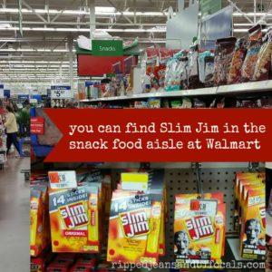 Slim Jim at Walmart