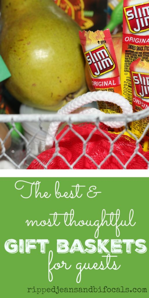 Be a great hostess: make your guests super comfortable with these thoughtful gift baskets