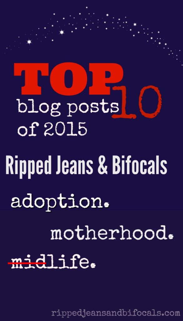 Top 10 Blog Posts of 2015|Ripped Jeans and Bifocals
