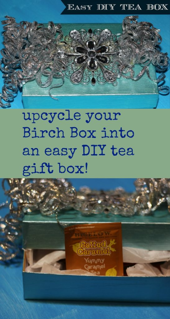 Easy DIY Tea Box|Ripped Jeans and Bifocals|
