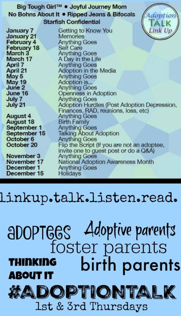 Adoption Talk Pin