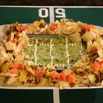 Amp up your game day table and make the best snack stadium ever!