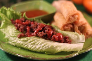 Celebrating Chinese New Year with Spicy Lettuce Boats & Pagoda Express