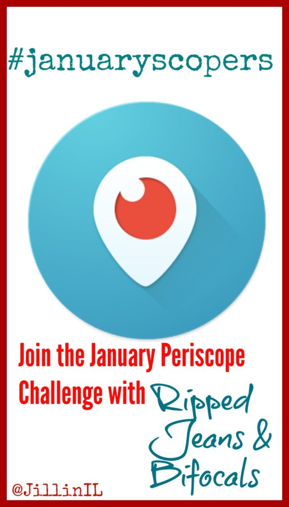 January Periscope Challenge|Ripped Jeans and Bifocals