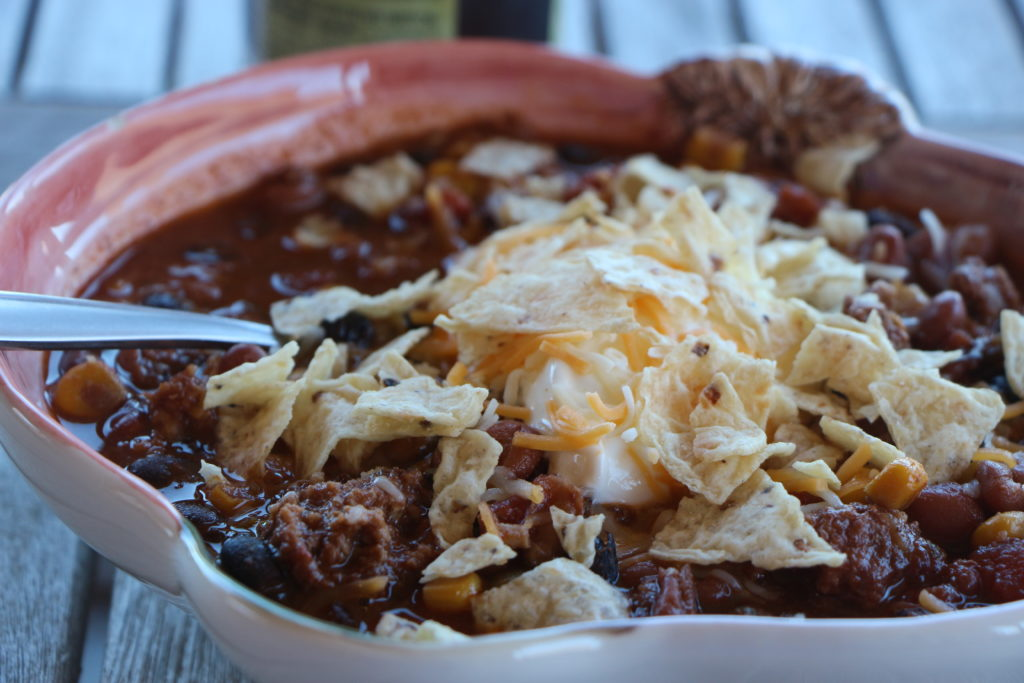 Easy crockpot taco soup|Ripped Jeans and Bifocals