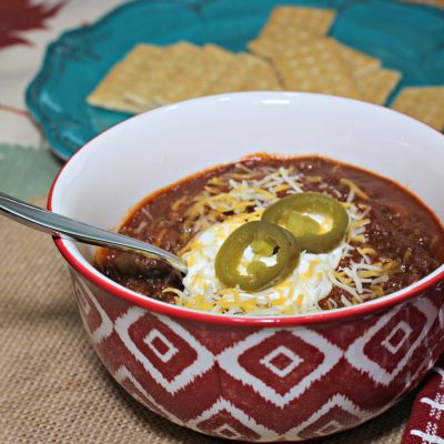 Kick-Ass Crock Pot Chili