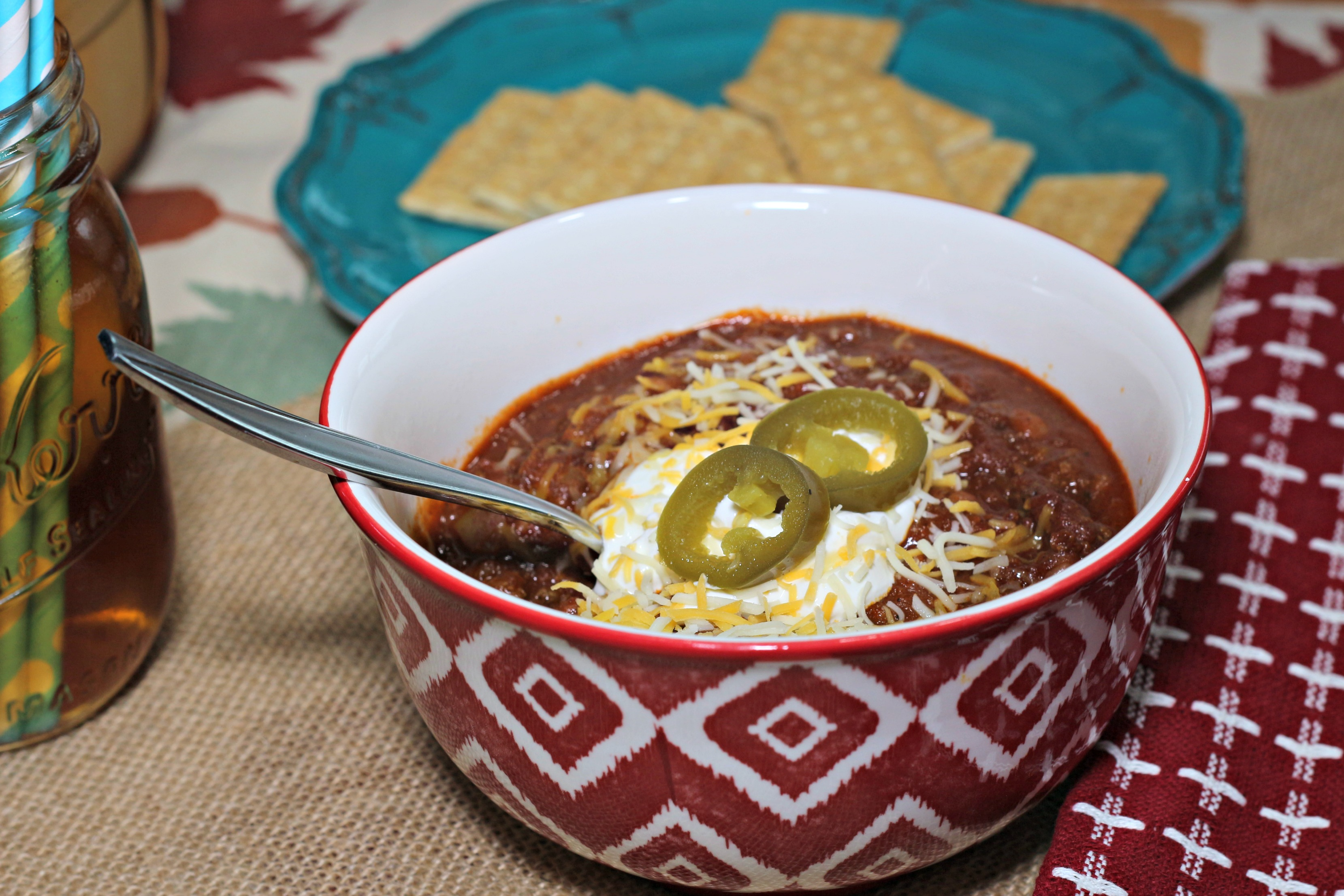 How to make kick-ass crock pot chili|Ripped jeans and Bifocals