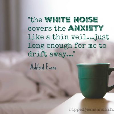 Living with the white noise