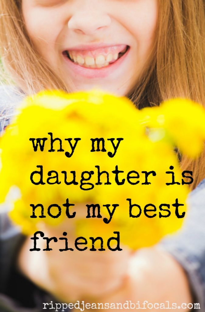 Why My Daughter Is Not My Best Friend Ripped Jeans Bifocals