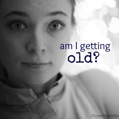 Am I old now? Guest post by Callie Feyen