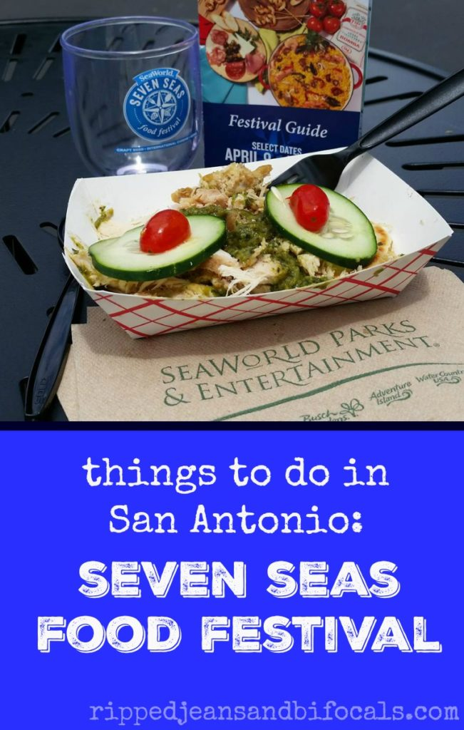Sea World for Grownups - The Seven Seas Food Festival|Ripped Jeans and Bifocals