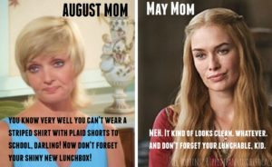 May Mom All the Way – The Tuesday Meme