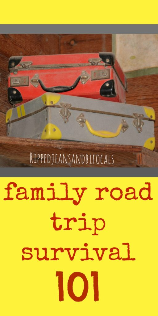 How to survive a road trip with kids|Ripped Jeans and Bifocals