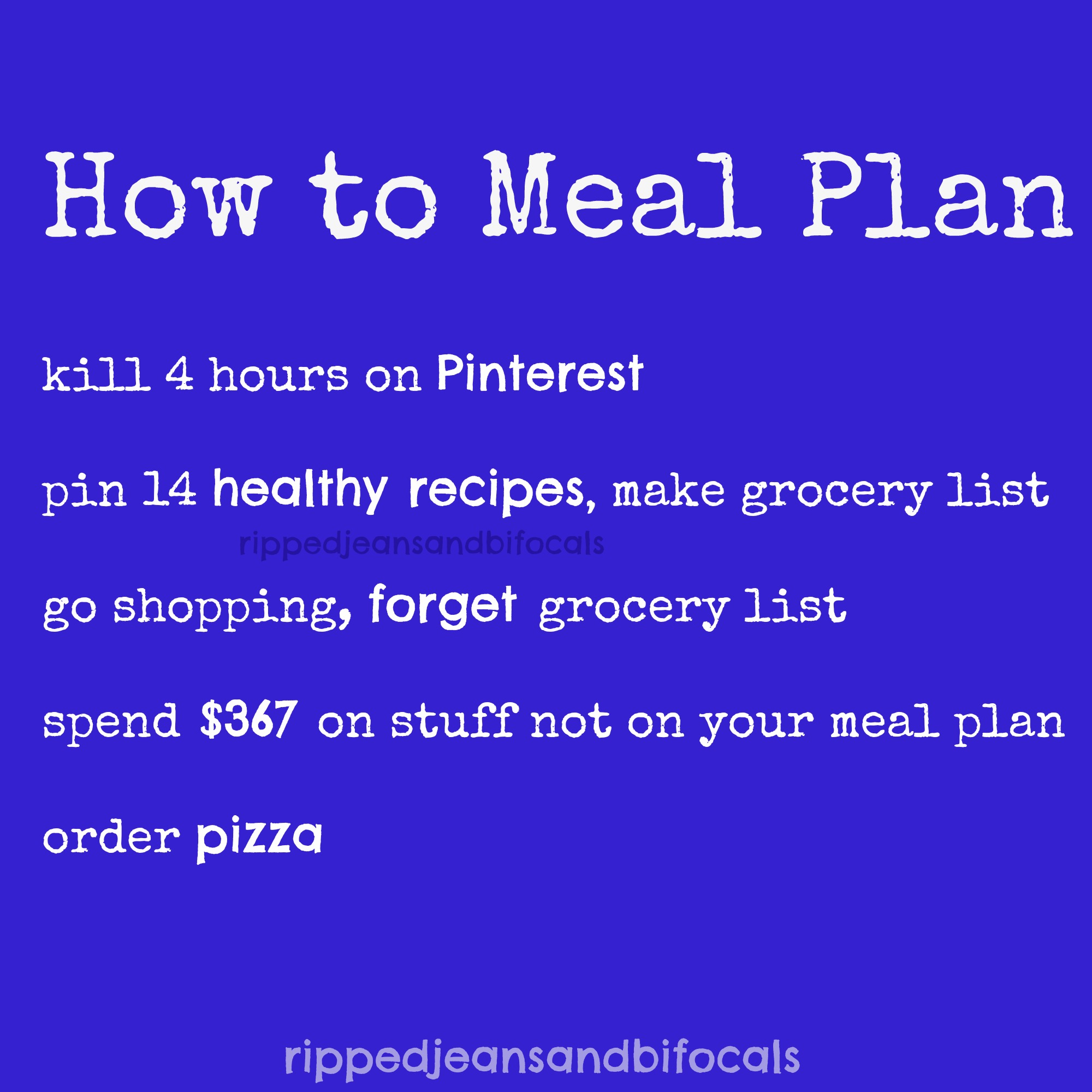 how to meal plan like a boss - the tuesday meme