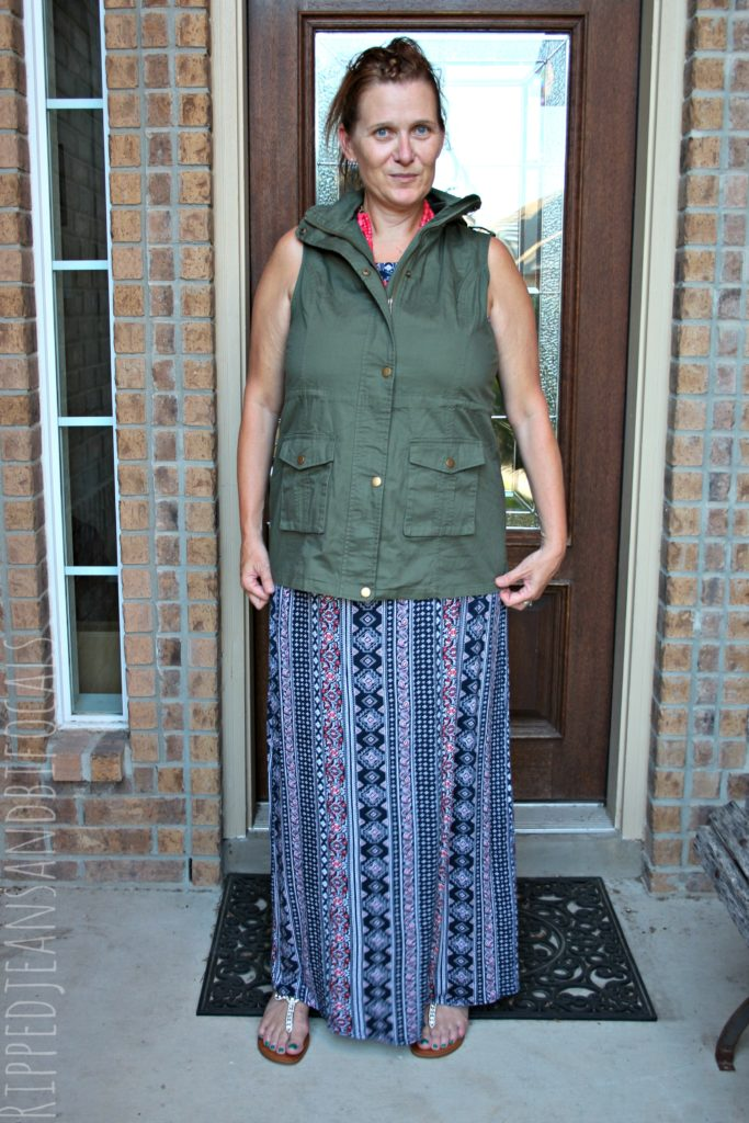 Stitch Fix Review #2|Ripped Jeans and Bifocals