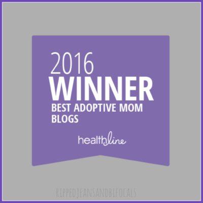 Post-adoption depression, Orlando and a trophy