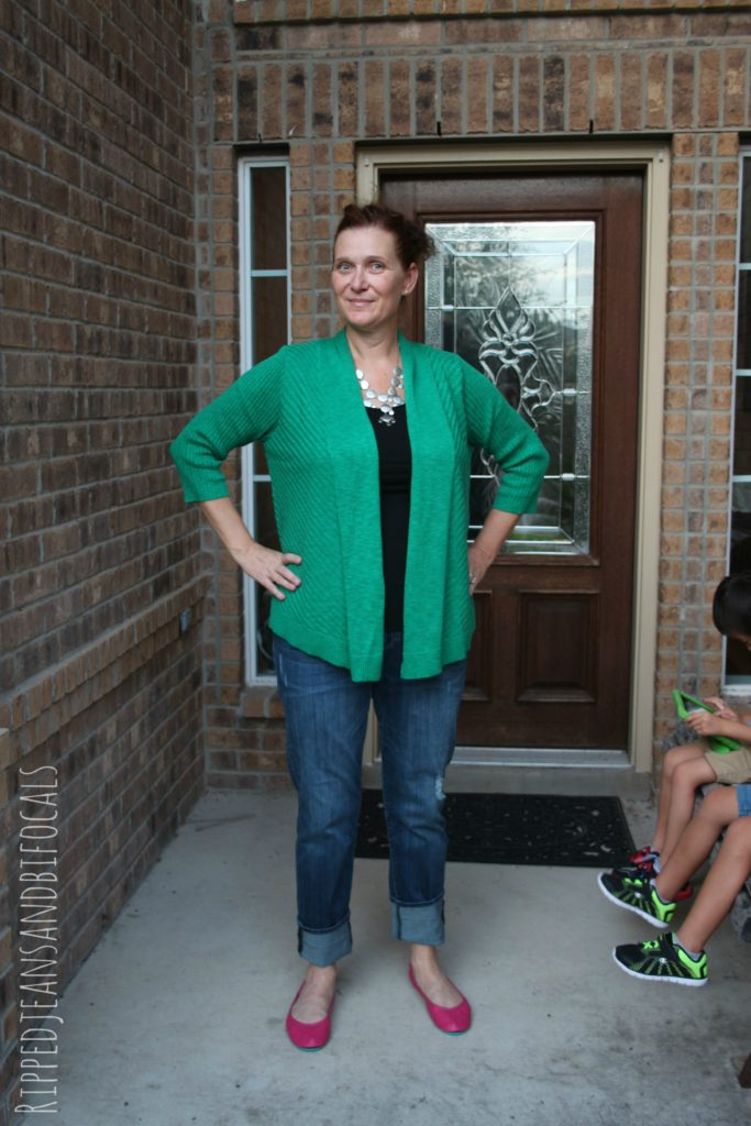 Stitch Fix Review #3|Ripped Jeans and Bifocals