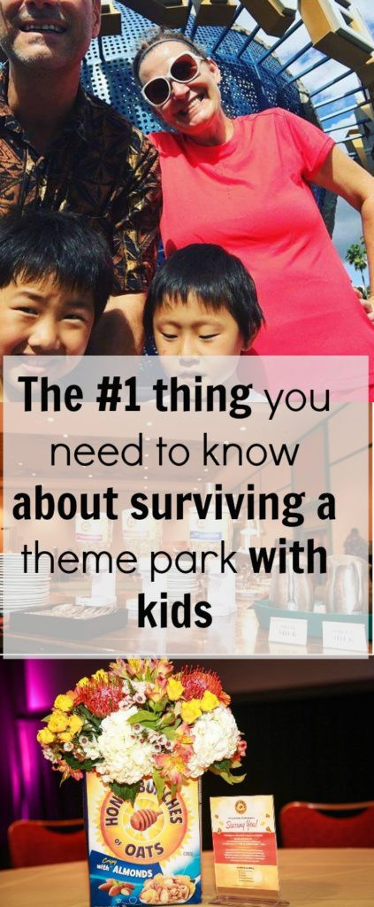 The number one tip for a successful day at the theme park with kids|Ripped Jeans and Bifocals