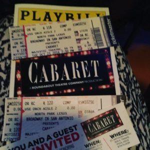 Happening cabaret theater datenight