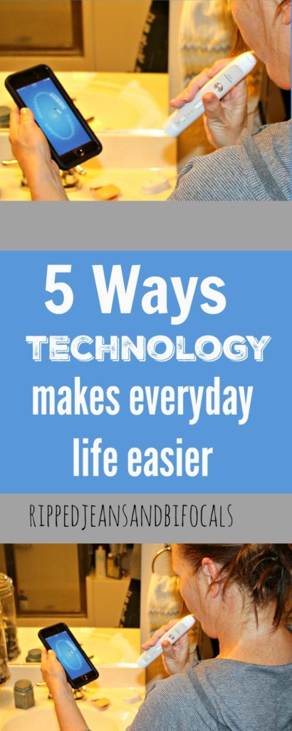 5 Ways Technology Makes My Life Easier|Ripped Jeans and Bifocals