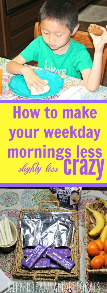 How to make your weekday mornings less crazy|Ripped Jeans and Bifocals