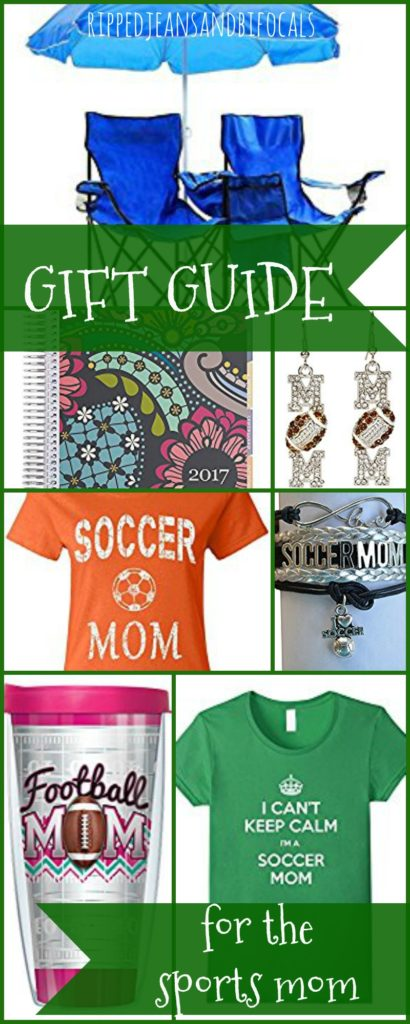 Gift Guide for the Sports Mom|Ripped Jeans and Bifocals