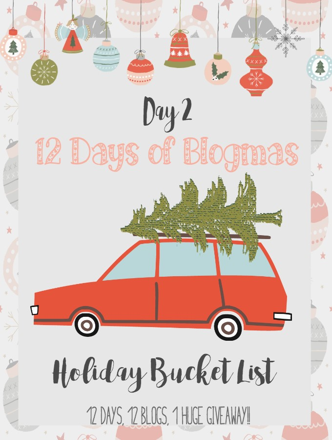 Should you make a holiday bucket list|Ripped Jeans and Bifocals
