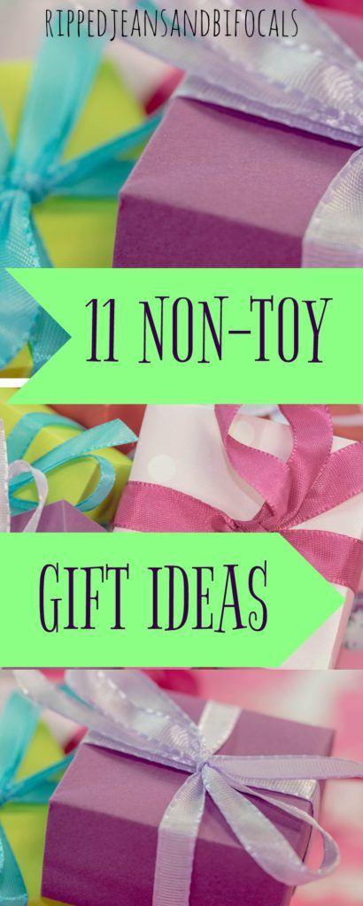 11 Gifts for kids that aren't toys|Ripped Jeans and Bifocals